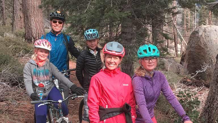 tahoe coffee mountain biking