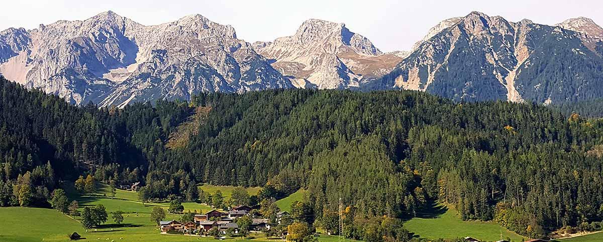 austrian village alpen sierra coffee inspiration