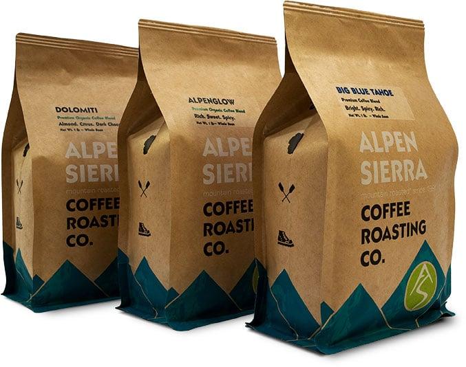 alpen sierra coffee bags coffee