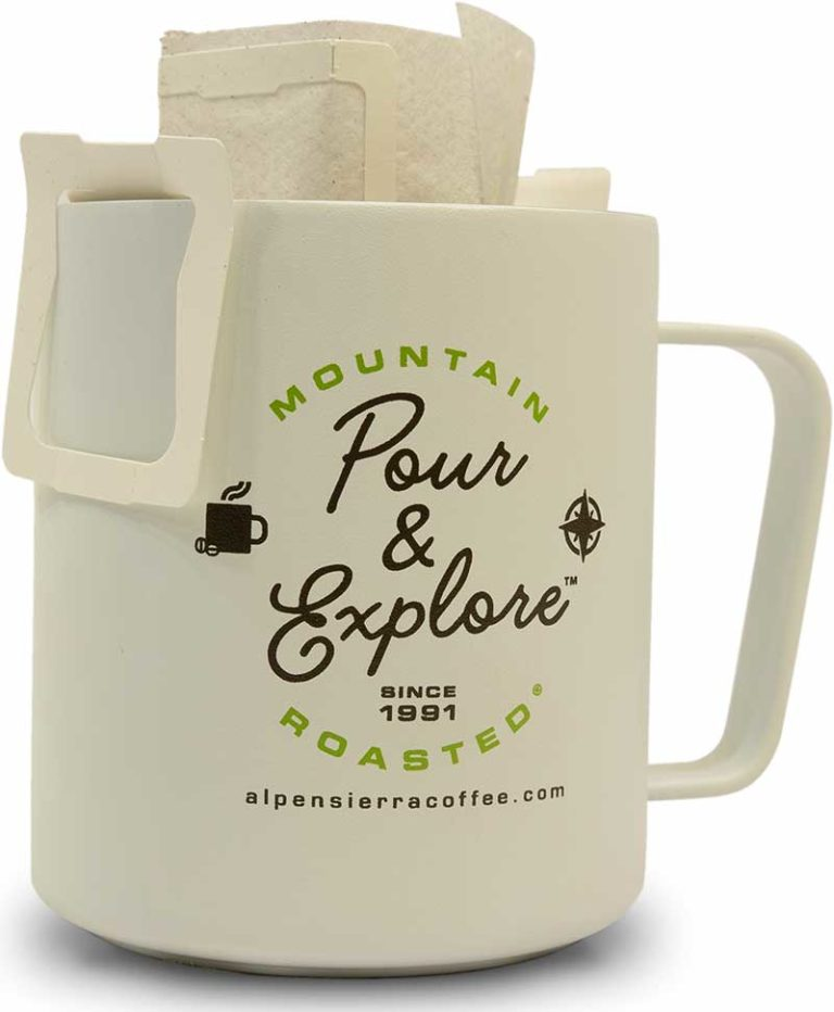 Pour an Explore Pour Over Coffee