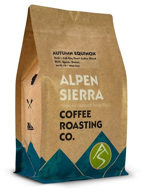 Alpen Sierra AUTUMN EQUINOX coffee